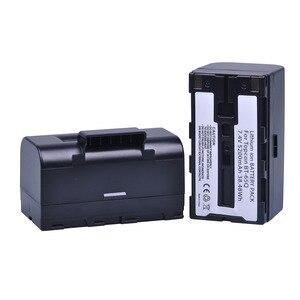 Image 3 - 2 St 7.4 V 5200 mAh BT 65Q BT65Q Ion Batterij voor Topcon GTS 900 en GPT 9000 Totaal Station