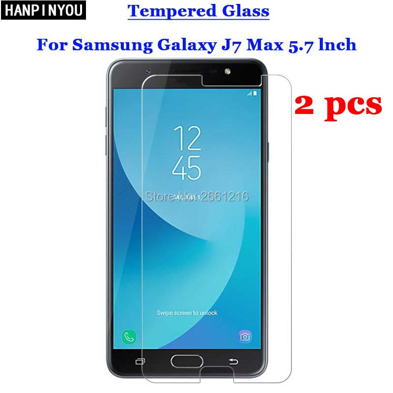 Official Website 2 Pcs/lot For Samsung J7 Max Tempered Glass 9h 2.5d Premium Screen Protector Film For Samsung Galaxy J7 Max G615 5.7 Commodities Are Available Without Restriction Mobile Phone Accessories Cellphones & Telecommunications
