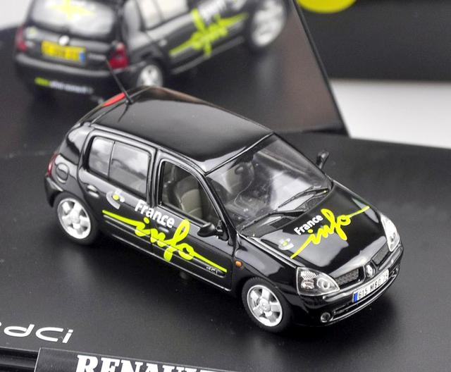 NOREV1: 43 RENAULY modelo de coche modelos de automóviles de Aleación