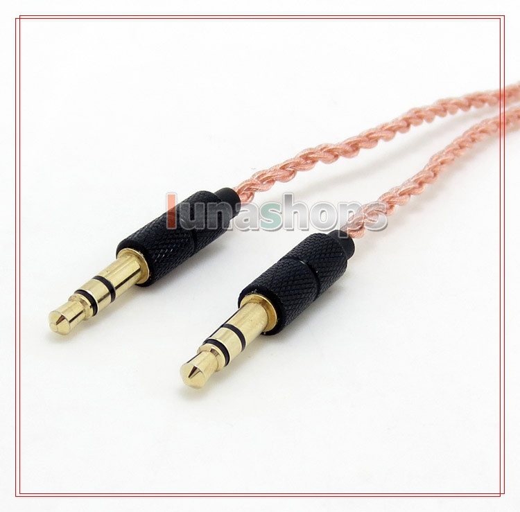 Pure 5N PCOCC Headphone Cable For philips m1 L1 L2 SHO8800 SHB7000 28 SHB9100 Bluetooth SHP9500 LN004756