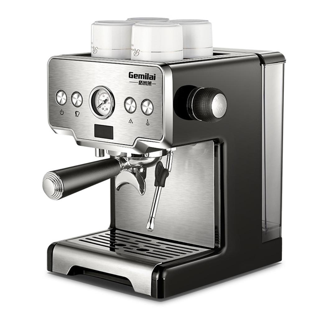 15 Bar Pressure Semi Auto Italian Espresso Machine CRM 3605 Commericial Coffee Maker 220V 1.7L Water Tank Coffee Machine|Coffee Makers| |  - title=