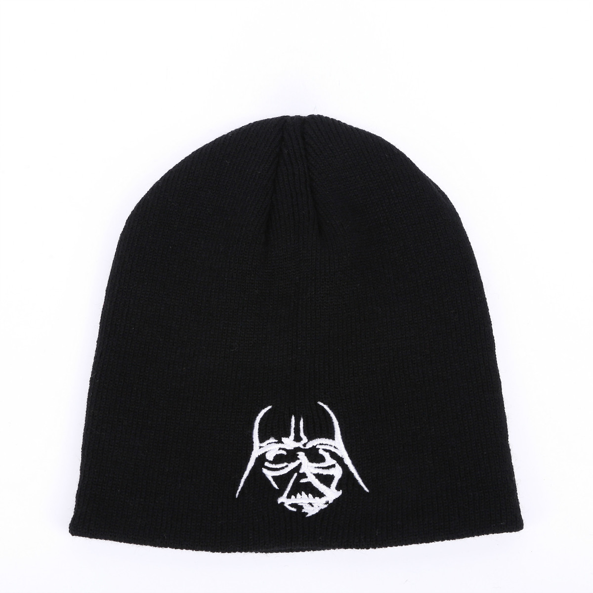 Trooper Star Wars Black Warrior Wool Knitting Hat Set Head Hats Keep Warm Cap For Men Women Autumn Winter Couple Caps Ski Beanie