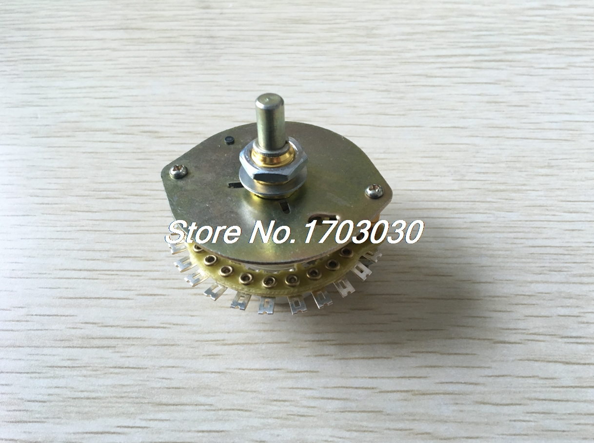 все цены на  1P16T 1 Deck 16 Position 16 Way Band Channel Selector Electric Rotary Switch  онлайн