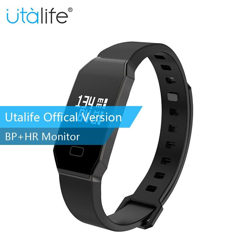 Utalife Brand U02 Smart wristband Bluetooth Blood pressure Heart rate Monitor Smart Bracelet Waterproof Swimming Smart