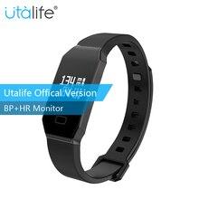 Utalife бренд U02 умный браслет bluetooth артериального давления сердечного ритма Мониторы умный Браслет Водонепроницаемый Одежда заплыва Smart Band