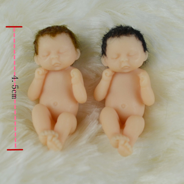 Baby Girl 4 5cm Thumb Doll Pocket Size Baby Baby Miniature Baby
