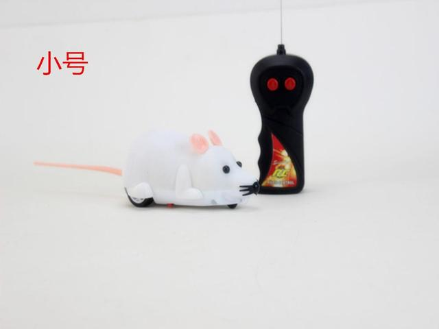 Funny RC Animals Wireless Remote Control RC Electronic Rat Mouse Mice Toy For Cat Puppy Kids Toy Gifts