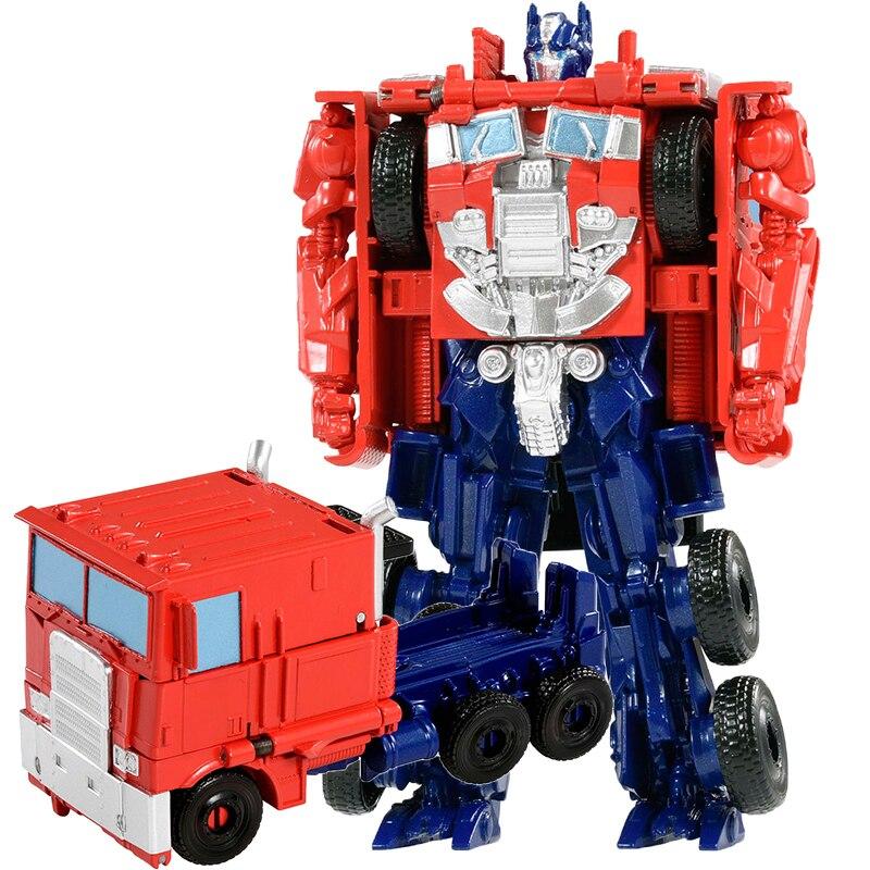 Image 3 - トランスフォーマー変形ロボット少年のおもちゃ変換車オプティマスプライムバンブルビーロールバーアクションフィギュア知育玩具ギフト -     グループ上の おもちゃ