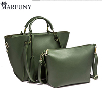 Luxury Handbags Women Bags Designer Composite Leather Shoulder Bags For Women 2018 New Crossbody Bag Green Womens Handbag Female