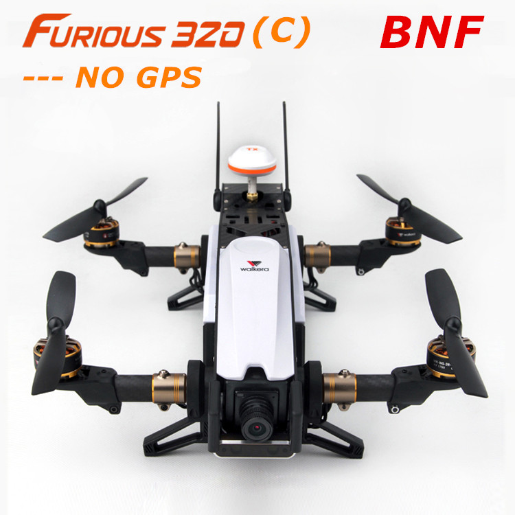 Walkera Furious 320(C)  RC Racing Drone BNF without Remote Controller with Camera / OSD ( NO GPS ) walkera furious 320 c devo 7 remote controller rc racing drone rtf with camera osd no gps