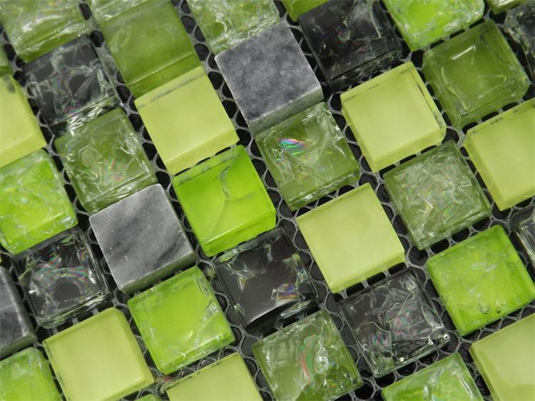 տան բարելավում, կանաչ սառցե ճաքճքված - Տնային դեկոր - Լուսանկար 2