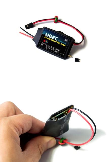 Livraison gratuite nouveau haute tension réglable UBEC 5V/6V/7.2V/8.4V/9V/12V
