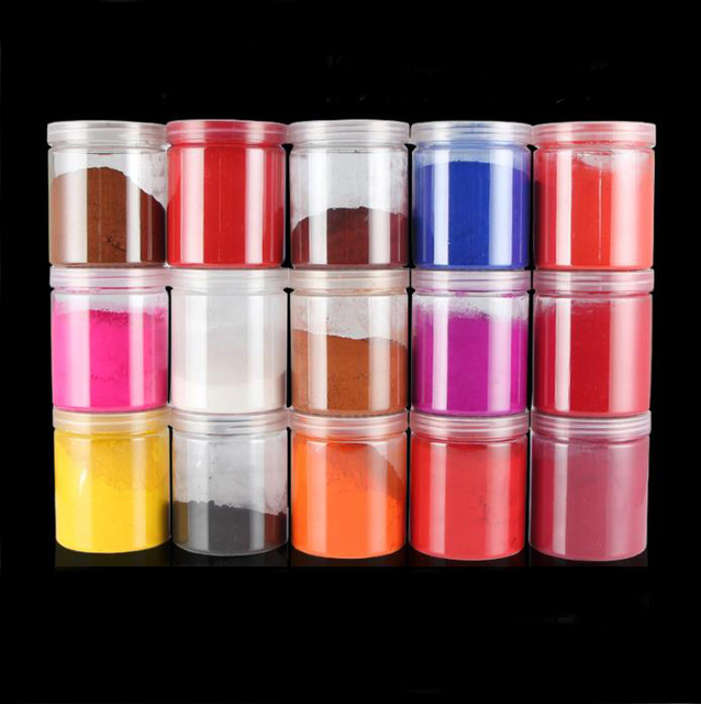 15 different Natural Mineral Matte Pigments Powder dyes, iron oxides, polymer clay dye, hobby DIY powder paint