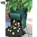 Cultivo de batata Plantio PE Sacos Sacos Sacos de Crescer Vasos Plantadores Do Jardim Da Casa de Fazenda De Plantação De Produtos Hortícolas Jardim Suprimentos