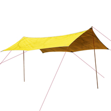 цены ASTA GEAR  Sun-shading Waterproof Outdoor Tarp Awning Canopy Sun Shelter Ultralight  Camping Sunshade Beach Tent