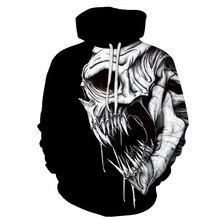2018 nuevo 3d cráneo Hoodie hombres mujeres moda invierno primavera ropa  deportiva Hip Hop marca Sudadera 1794b2a5679