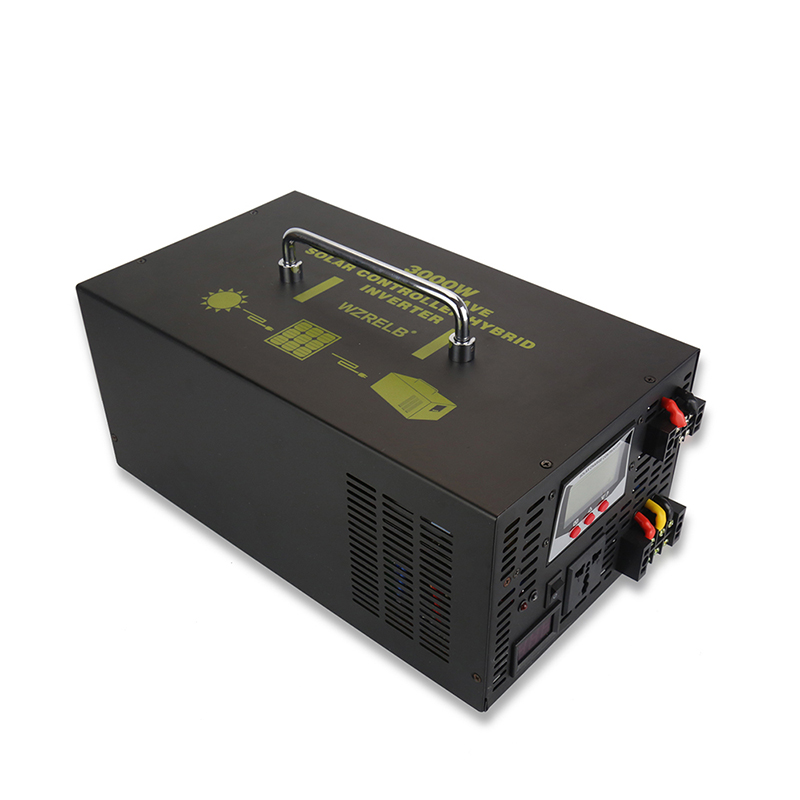 Reine Sinus Welle Solar-wechselrichter 3000 W 12 V/24 V/48 V DC zu 120 V/ 220 V/230 V/240 V DC/AC Konverter Hybrid Inverter 30A Ladegerät Controller