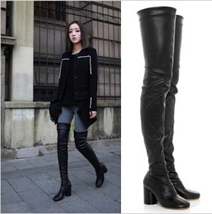 Compare Prices on Stretch Over The Knee Boots- Online Shopping/Buy