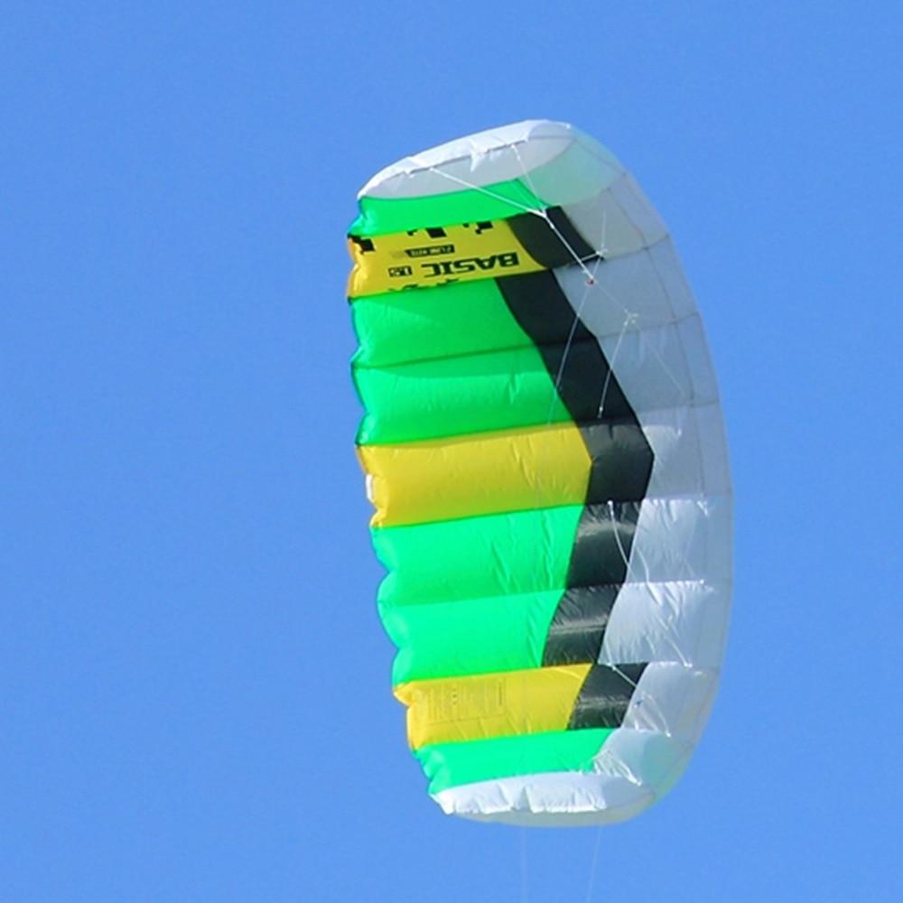 Dual Line Power Kite 0.6sqm გარე Sport Stunt Kite - გარე გართობა და სპორტი - ფოტო 2