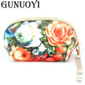 GUNUOYI Hot Women Cosmetic Bag The PU leather  Makeup Toiletry Bag Pencil Pouch Beauty Wash Gargle to Receive Package