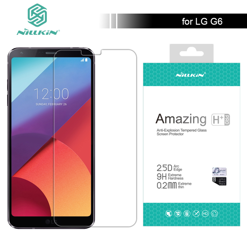 Nillkin for LG G6 Q6 V20 Tempered Glass Screen Protector 9H Amazing H / H+ Pro Anti-Scratch For LG V20 G6 Q6 Nilkin Glass
