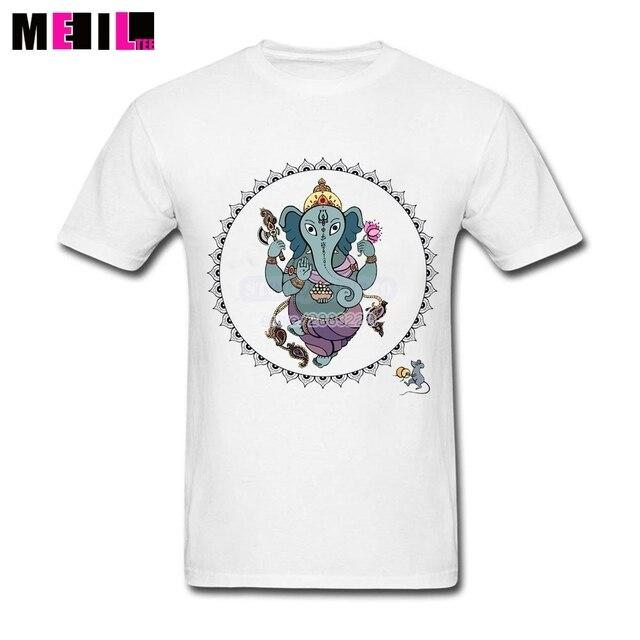 Guy Hindu God Ganesha 3XL Cheap T Shirts Elephant Art Short Sleeve ...