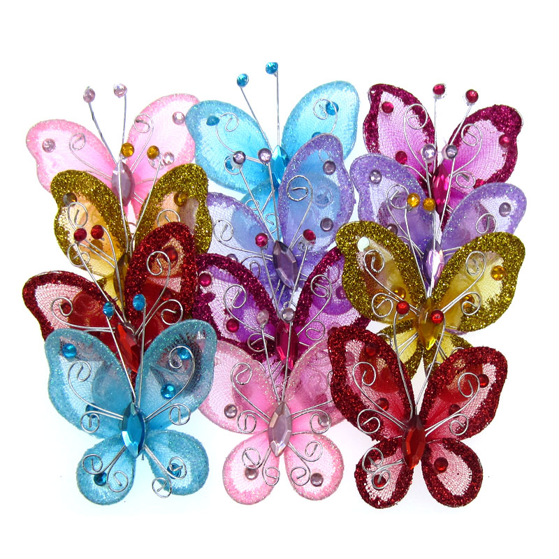 Event & Party Home & Garden Delicious 20pcs 3d Butterfly Paper Napkin Rings For Dinners Parties Napkin Ring Holder Wedding Party Table Decoration Creative