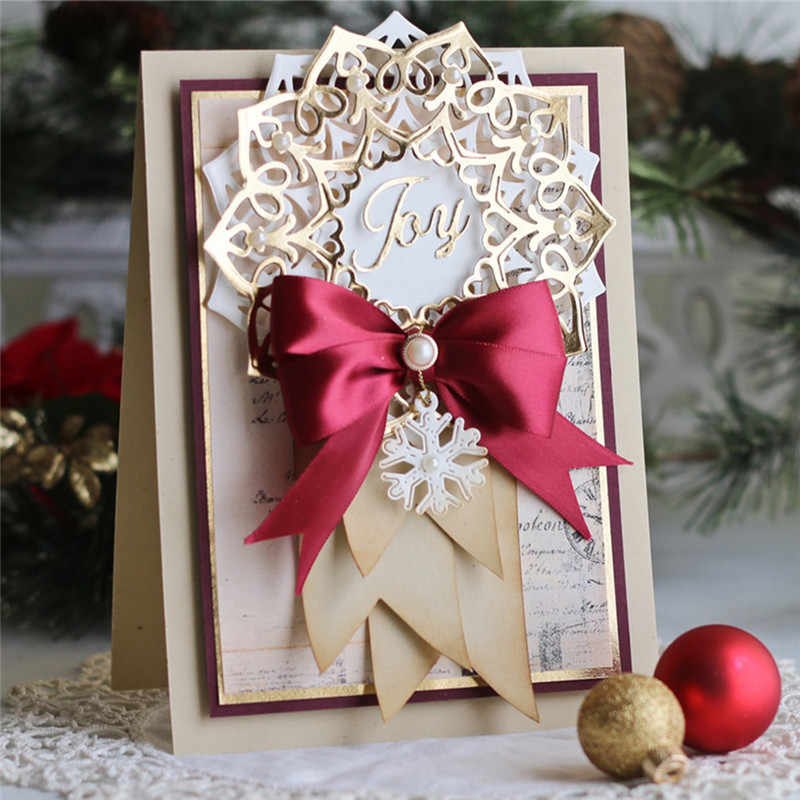DiyArts Frame Flowers Dies Decor Cutting Die Metal Craft 2019 New Birthday for Scrapbooking Card Making DIY Album Embossing