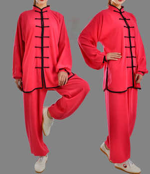 29colors Unisex taiji suits tai chi uniforms kung fu martial arts clothing black/pink/blue/red/rose/yellow