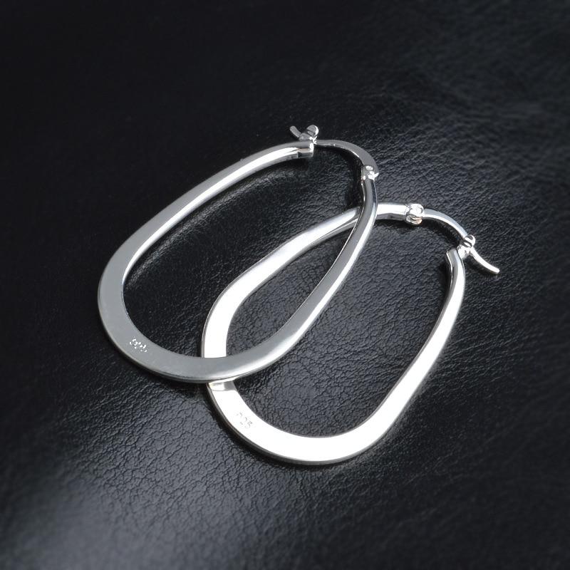 MüHsam U-förmigen Hoop Ohrringe Für Frauen Ohrring Ohrringe 925 Sterling Silber Schmuck Earing Brincos Brinco Ohrringe Pendientes Geschenk F45 Creolen Ohrringe