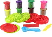 Colorful 3D Plasticine Modeling Clay Play Dough Set Puzzle Fruit Playdough Set Brinquedos Educativos