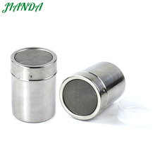 ФОТО JIANDA 304 Stainless Steel Salt Pepper Shaker Kitchen Herb  Spice Tool Condiment Box Cooking Seasoning Bottle Barbecue Tool
