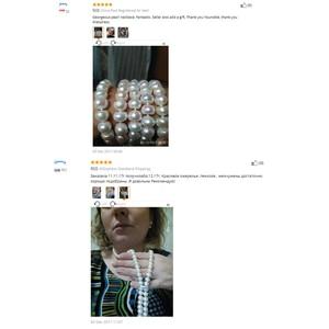 Image 5 - 900 Mm Vintage Thật Dài Vòng Cổ Ngọc Trai Nữ, Bé Gái Trang Sức Bạc 925 Tự Nhiên Cô Dâu Nước Ngọt Trắng Ngọc Trai Mẹ