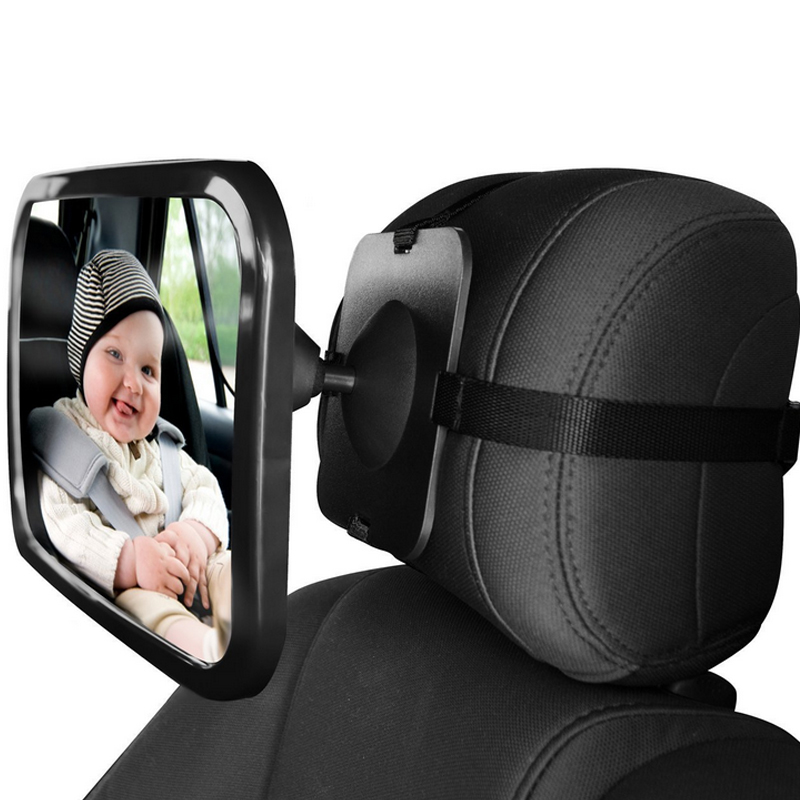 Car Security The Baby Seat Car Rearview <font><b>Mirror</b></font> Auxiliary Car 360 Adjustable Wide Angle Easy View Back Seat Interior Accessories