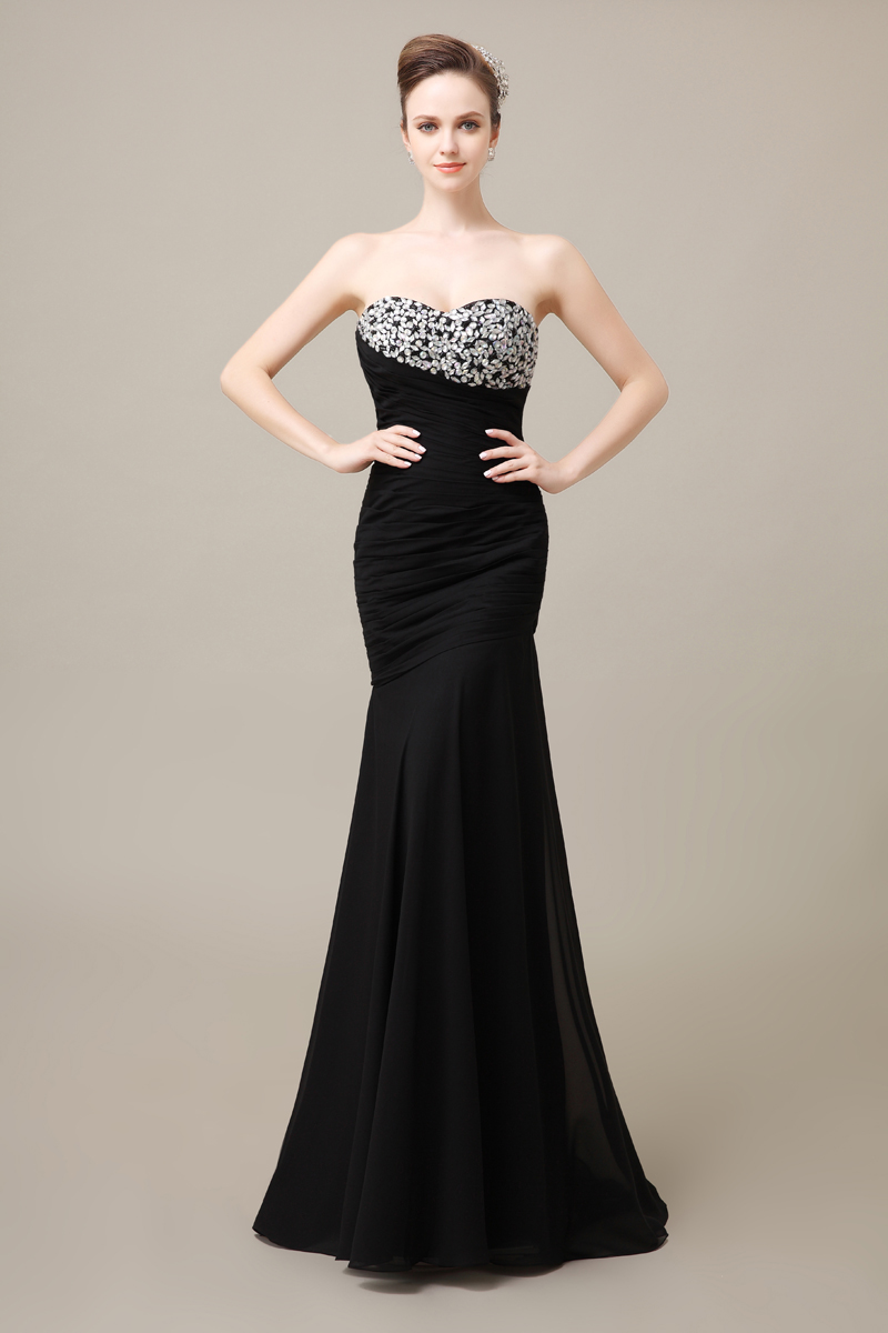 Compare Prices on Black Plus Size Mermaid Prom Dresses- Online ...