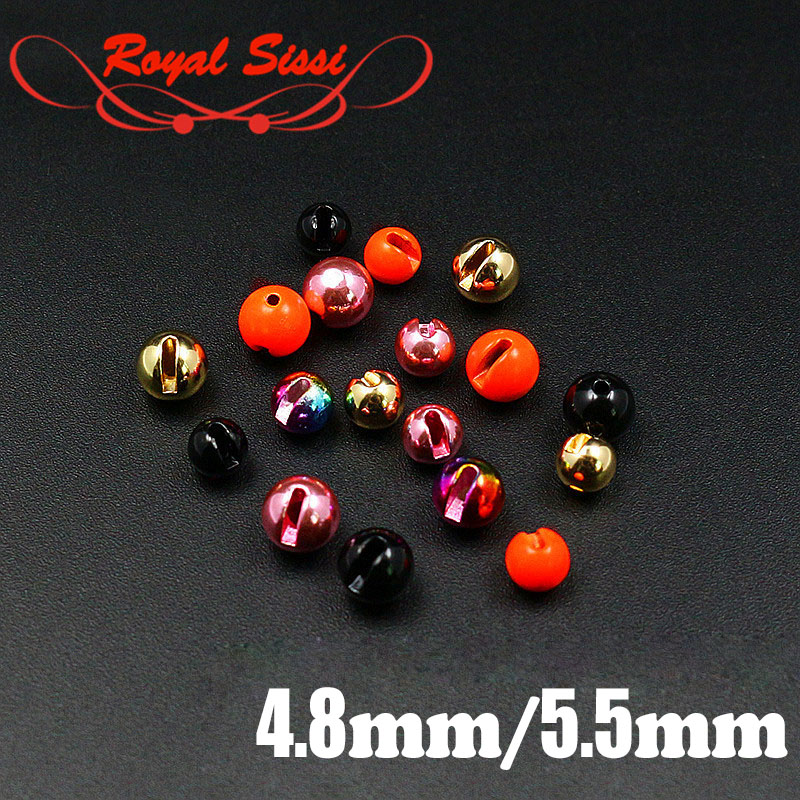 20 BLACK TUNGSTEN SLOTTED BEADS FOR FLY TYING U PICK SIZE 2.0 4.0 3.0 4.6 mm