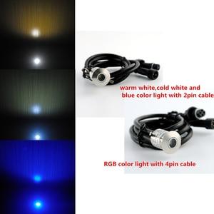 Image 5 - Luz LED de bajo voltaje para exteriores, lámpara de suelo de pared para jardín subterráneo, escalera, a prueba de agua, IP67, 12V, 10 unids/lote