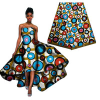 Cheap African Print Material Ankara African Wax Print Fabric For Dresses African Fabric Real Wax Print