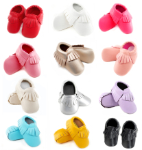Newborn Baby Moccasins Soft Shoes