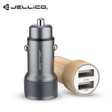 Jellico Dual USB Car Charger 5V 3 1A Fast Car USB Charger for Samsung Xiaomi Tablet USB Phone Charger for iPhone X Car-Charger cheap 5V 3A RoHS Other Nokia Blackberry APPLE Lenovo Motorola Universal MEIZU Sony Huawei Car Lighter Slot JC-31 Mobile Phone Tablet Car Charger
