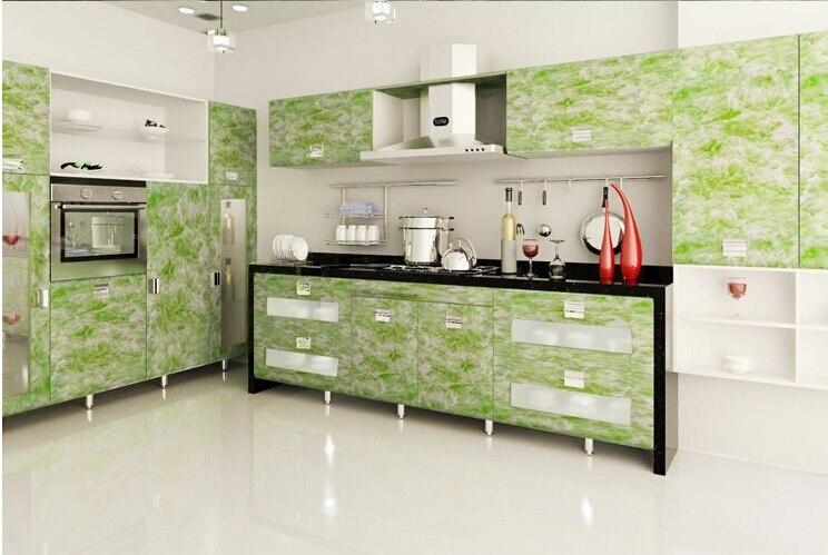 affordable nice papier peint vinyle cuisine m solide pvc. Black Bedroom Furniture Sets. Home Design Ideas