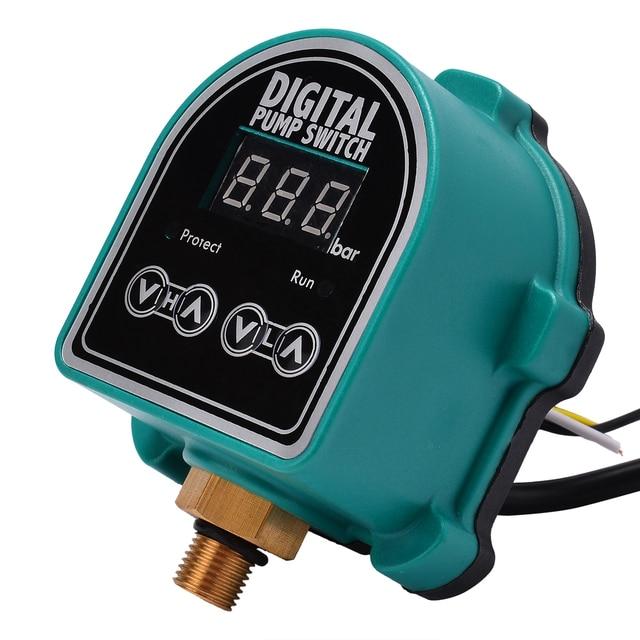 Mayitr 220 В бытовой цифровой насос переключатель садовые газовые водяные насосы регулятор давления переключатель управления для водяного насоса аксессуары