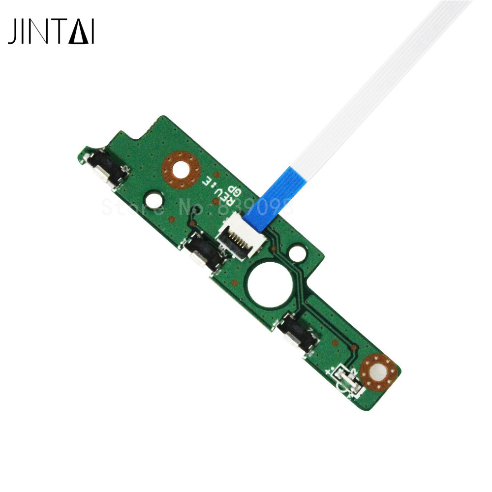 JINTAI Power Button-schakelaar ON-OFF Board W / CABLE VOOR TOSHIBA P50W-B P55W-B A000298290 DA0BLSPB8E0