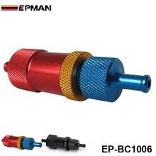 Ручной турбокомпрессор алюминиевый турбонаддув контроллер ж/керамический шар Универсальный черный EP-BC1006