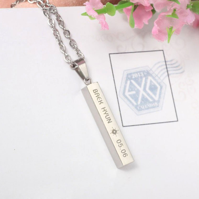EXO Members Necklaces (7 Styles)