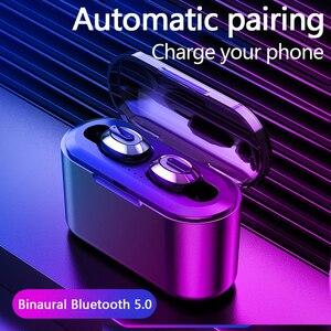 Image 3 - KSUN BT 01 TWS 5.0 auricolare Bluetooth 3D stereo auricolare senza fili con doppio microfono