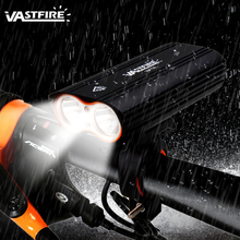 USB Rechargeable Bicycle Light 2 XM-L T6 LED Front Handlebar Bike Headlight 4 Modes Waterproof Cycling Lamp стоимость