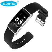 Huiniu n108 смарт пульсометр кислорода в крови кровяное давление смотреть с фитнес-трекер умный браслет для android ios