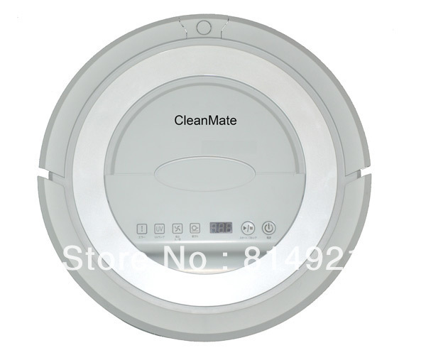 (For ALL Buyer)Robotic vacuum cleaner QQ5W,autocharge,long working time,shedule,UV Light,never touch charge base and vitual wall