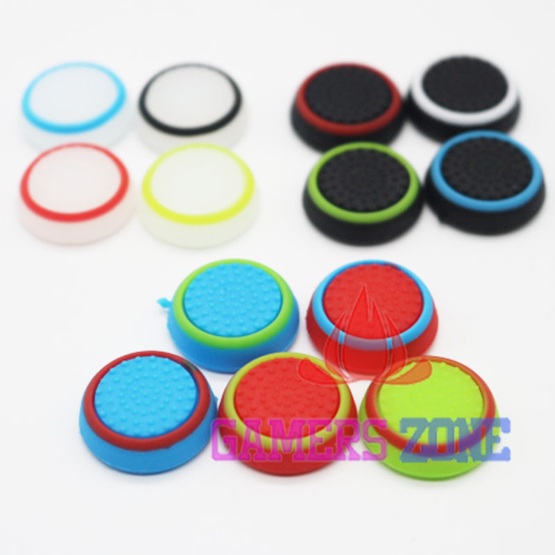 300pcs Analog For xbox 360 Controller Thumb Stick Grip Thumbstick Cap Cover for PS4 XBOX ONE Glow
